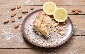 zitronen kokos blondies ohne zucker clean kuchen