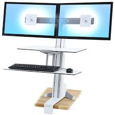 Multiple Monitor Standing Desk by Articles With Desktop Computer Dual Monitor Setup Tag Cozy