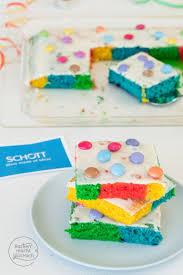 regenbogenkuchen vom blech