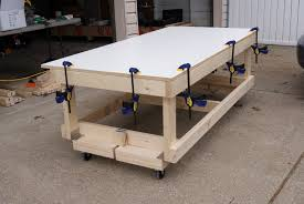 Wood Workbench Plans Free Download by Furniture U0026 Accessories Interior Design Of Workbench With Wheels