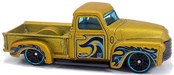 100 52 Chevy Truck 75mm 2007 Hot Wheels Newsletter