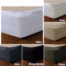 Split Corner Bed Skirt by Bed Skirts Bedding Men