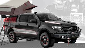 2019 Ford Ranger Gets The SEMA Treatment - Motor Trend Canada Topperking Tampas Source For Truck Toppers And Accsories Are Fiberglass Truck Caps Cap World Ford Ranger Raptor Is A Performance Pickup Asia Pacific Torque Hardtop Accsories 2012on Pick Up Tops Uk Pro Top Canopy Hardtops For The Hard Working Pickup 2019 Am I The Only One Disappointed Gearjunkie Review Auto Express Ford Double Cab Specs Photos 2011 2012 2013 2014 2015 Aero Pack Homemade Roof Rack On Cap All Done Rangerforums Cx Series Arecx Heavy Hauler Trailers Storage Design