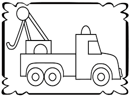 Growth Tow Truck Coloring Pages Simple Realistic | Volamtuoitho Tow Truck Coloring Page Ultra Pages Car Transporter Semi Luxury With Big Awesome Tow Trucks Home Monster Mater Lightning Mcqueen Unusual The Birthdays Pinterest Inside Free Realistic New Police Color Bros And Driver For Toddlers