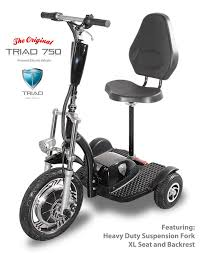 Electric Scooters For Adults The Triad 750 Mobility Trike Is BEST IN