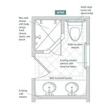 5 X 11 Bathroom Layout Awesome Ideas Apartment By