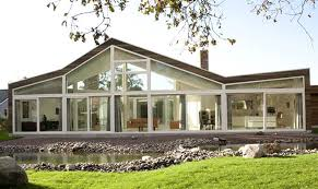100 Home Contemporary Design Ranch House With Glass Faade And