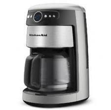 KitchenAid Digital 14 Cup Glass Carafe Coffee Maker Kcm222 Choose Silver Red New
