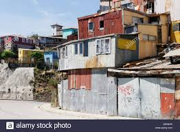 100 Houses In Chile Poor Quality Housing In Valparaiso Stock Photo 41779859 Alamy