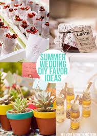 Marvellous DIY Wedding Ideas For Summer Beauteous Favor