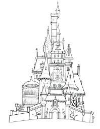 Anna And Elsa Frozen Fever Coloring Pages Castle Printable Free Kids Sheets Pdf