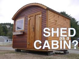 Tuff Shed Weekender Cabin by Tiny House Shed 384 Sq Ft Shed Converted Into Tiny Home For 11k