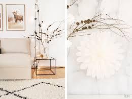 winter deko wohnzimmer diy fein und fabelhaft