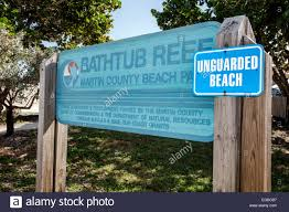 stuart florida hutchinson island bathtub reef beach sign unguarded