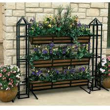 Outdoor Patio Plant Stands by Garden Plant Stands Ship Design