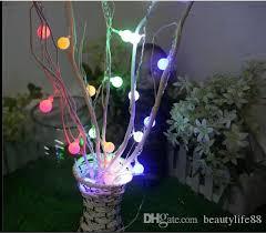 großhandel home deko licht led kleinlicht licht raum wohnzimmer arrangement runde vase blume baum dendriten geburtstagsüberraschung beautylife88