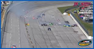 Big One' Takes Out Truck Playoff Contenders At Talladega | NASCAR.com Weekend Schedule For Talladega Surspeedway Pure Thunder Racing No 22 Truck Will Have A Trumppence Paint Scheme Todd Gliland Goes Wild Ride Nascarcom Fr8auctions Set To Become Eitlement Sponsor Of Truck Bad Boy Mowers Returns To With Make Motsports Lyons Pairs Reaume For Race Speed Sport Free Friday Mechanical Woes Knock Chase Briscoe Out Series Playoffs At Kvapils Good Run Ends In The Big One At New Nascar Flaps Malfunctioning Select Teams News 2014 Freds 250 Camping World