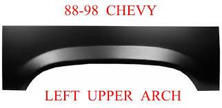 100 Truck Bed Repair Panels 8898 Chevy GMC Left Upper Wheel Arch Panel MrTailLightcom