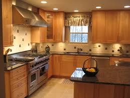 Kitchen Backsplash Pictures With Oak Cabinets by Tan Brown Sapphire Blue Granite Counters With Oak Cabinets Visit