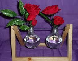 light bulb vase etsy