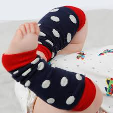 baby leg warmers blue spot piccalilly