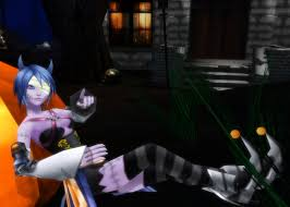 Halloween Town Characters Pictures by Mmd Aqua Halloween Town Dl By 0 0 Alice 0 0 On Deviantart