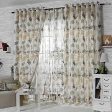 Dining Room Casual Curtain Ideas Excellent Print Curtains Graphic Window Elegant
