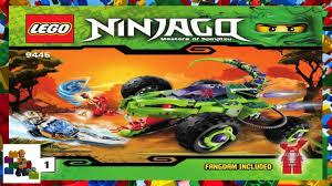100 Fangpyre Truck Ambush LEGO Instructions Ninjago 9445 Book 1