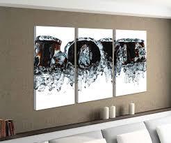 leinwandbild 3 tlg text schrift schwarz liebe abstrakte kunst schlafzimmer bild bilder leinwand leinwandbilder holz wandbild mehrteilig 9w230
