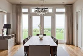 Crystal Chandelier For Dining Room Magnificent Ideas
