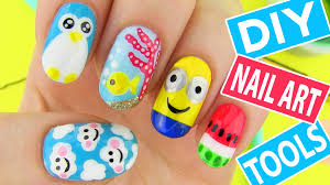 DIY Nail Art Tools With 5 Easy Nail Art Designs! How To Paint Your ... Nail Designs Cool Polish You Can Do At Home Creative Cute To Decoration Ideas Adorable Simple Emejing Contemporary Decorating Design Art Black And White New100 That Will Love Toothpick How To Youtube In Steps Paint Easy U The 25 Best Nail Art Ideas On Pinterest Designs Neweasy Gallery For Kid Most Amazing And