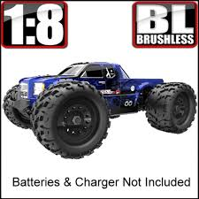 NEW Landslide Xte 1/8 Scale Brushless Monster Truck Electric Blue ... Traxxas Xmaxx 16 Rtr Electric Monster Truck Wvxl8s Tsm Red Bigfoot 124 Rc 24ghz Dominator Shredder Scale 4wd Brushless Amazing Hsp 94186 Pro 116 Power Off Road 110 Car Lipo Battery Wltoys A979 24g 118 For High Speed Mtruck 70kmh Car Kits Electric Monster Trucks Remote Control Redcat Trmt10e S Racing Landslide Xte 18 W Dual 4000 Earthquake 8e Reely Core Brushed Xs Model Car Truck