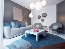 foto auf lager gemütliche lounge im minimalistischen stil