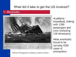 When Did Lusitania Sink by World War I Overview