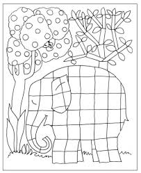 Full Size Of Coloring Pageelmer Page Elephant Az Pages With Regard To The Large