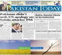 Pakistan Today Epaper