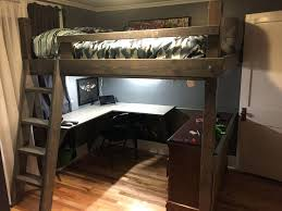 Ikea Full Loft Bed by Apartments Ikea Svarta Loft Bed Desk Best Full Ideas On Beds For
