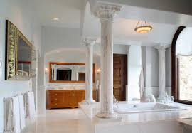 Add Grandeur To Your Bathroom With Beautiful Marble Columns