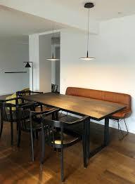 esstisch mit bank contemporary dining room dusseldorf