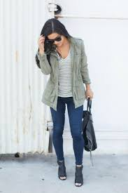 Fall Casual Utility Jackets Ankle Booties