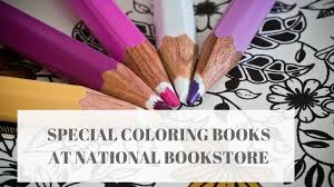 Special Coloring Books At National Bookstore