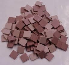 lyric unglazed porcelain tile pink mosaic mix arctic mermaid mosaics