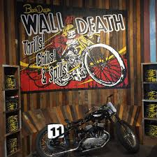 smoky mountain harley davidson wall of death label industries