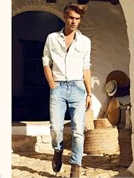 Mens Denim Shoot Inspiration Image Men Summer FashionMen