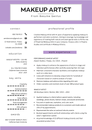 Makeup Artist Resume Sample & Writing Tips | Resume Genius Makeup Artist Resume Sample Monstercom Production Samples Templates Visualcv Graphic Free For New 8 Template Examples For John Bull Job 10 Rumes Downloads Mac Why It Is Not The Best Time 13d Information Awesome Cv