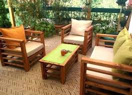Diy Pallet Patio Furniture Cushions Outside Ideas Outdoor Chair Youtube