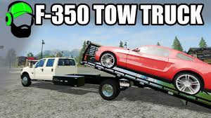 Farming Simulator 17 Mod - Ford F-350 Tow Truck For All Your Towing ...