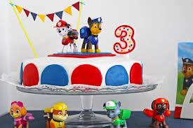 paw patrol birthday cake stracciatella torte mit