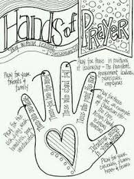Look To Him And Be Radiant Hands Of Prayer Would Change The Pointer Finger Pray For Our Elders Deacons Minister Bible Class Teachers Etc