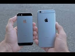 iPhone 6 vs iPhone 5s parison 4K